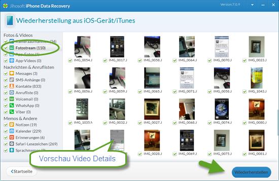 wie man gel schte videos ohne backup vom iphone ipad wiederherstellt. Black Bedroom Furniture Sets. Home Design Ideas