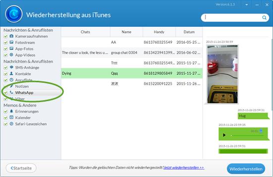 whatsapp nachrichten aus backup lesen iphone