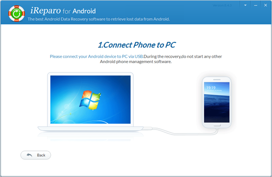 connect android to pc
