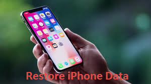 restore iphone data