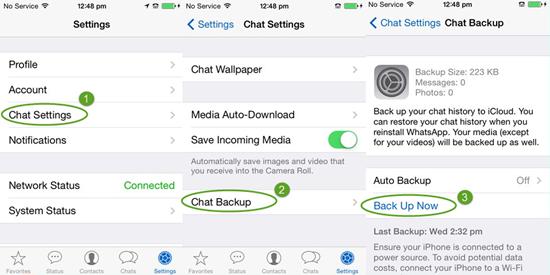 Como recuperar whatsapp borrados iphone 7