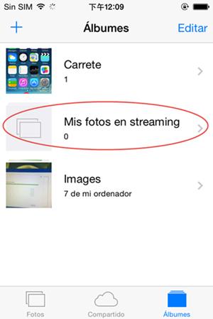Recuperar fotos en iphone desde icloud