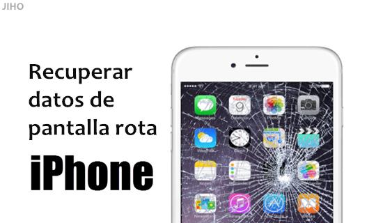 Como recuperar memoria iphone sin pantalla
