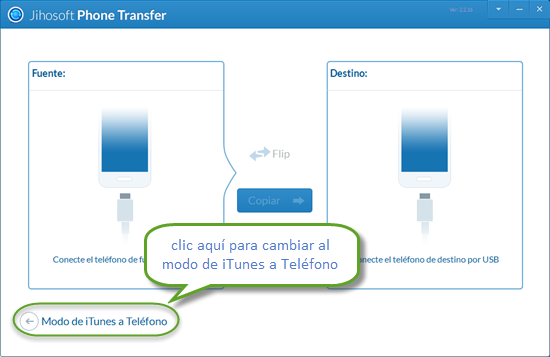 Instrucción para sincronizar biblioteca iTunes a dispositivos Android