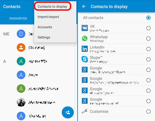 Transférer vos contacts vers un nouveau téléphone Android