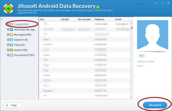 1151c47c1be138 2 Solutions Pour Récupérer des Contacts Supprimés depuis Android