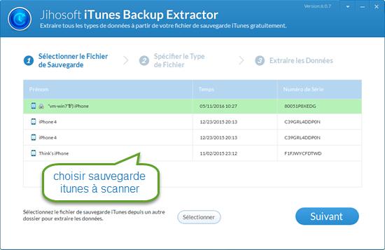 guide de l utilisateur pour jihosoft extracteur gratuit d itunes rh jiho com Manuel Utilisation iPad 2 Utilisation Operations Management