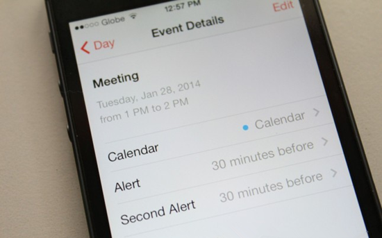 Sync calendrier iPhone avec Android