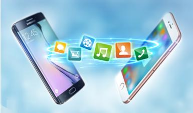 ¿Qué información de datos se pueden transferir a un otro teléfono?