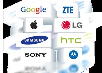 Apoyar diferentes dispositivos móviles basados en Android y iOS