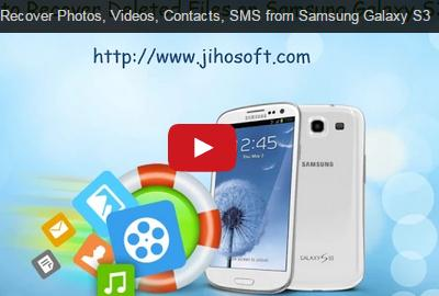 Video Guide about Jihosoft iPhone Recuperación de Datos