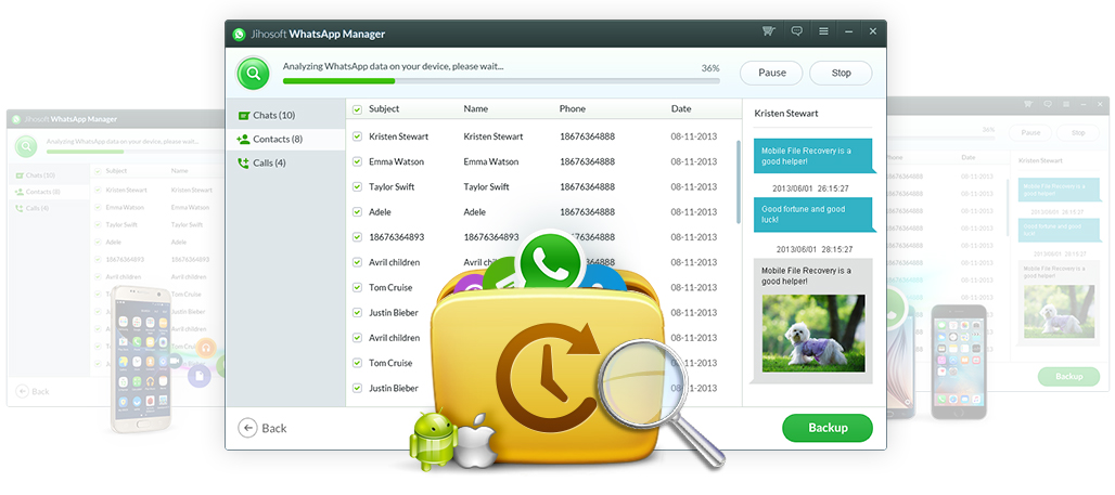 Backup & Restore WhatsApp