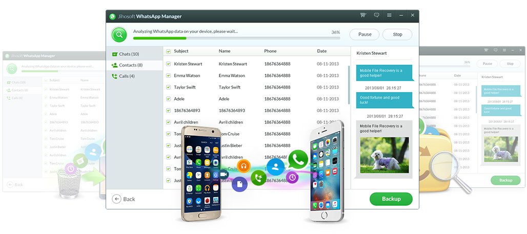WhatsApp Chats Transfer Among Android and iOS devices