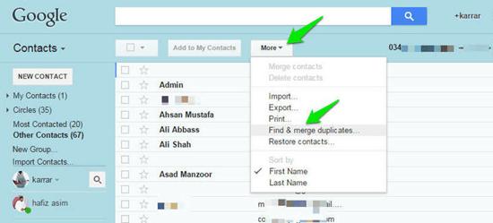 Comment récupérer les contacts supprimés sur Android ?