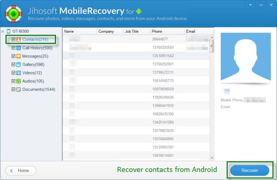 Wie kann man gelöschte Kontakte aus Android wiederherstellen?