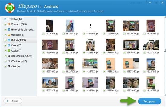 Cómo recuperar fotos borradas de la cellular Android