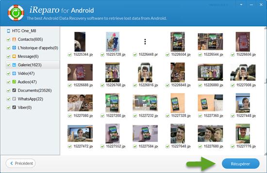 Comment récupérer des photos supprimées de la Android