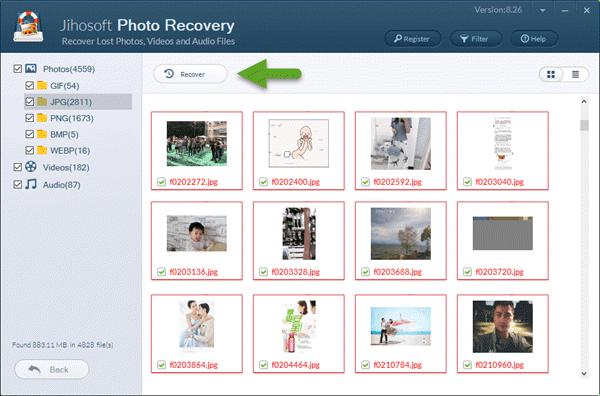 Comment récupérer des photos et vidéos supprimées d'un appareil Canon?