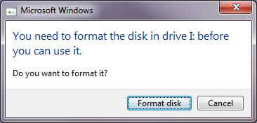 Comment réparer une carte SD non formatée?