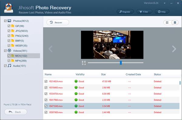 Wie kann man gelöschte Fotos und Videos von der SD-Karte wiederherstellen?