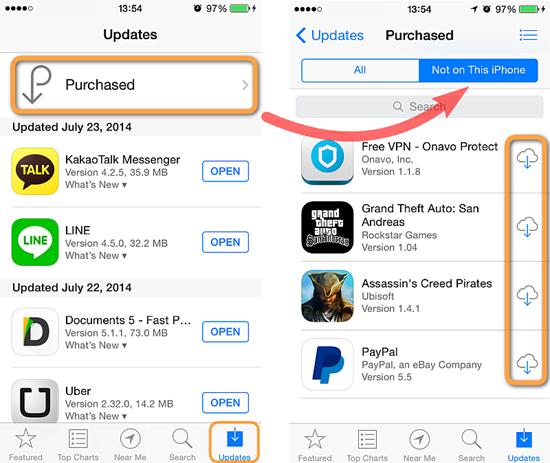 Connectez-vous à l'App Store avec Apple ID