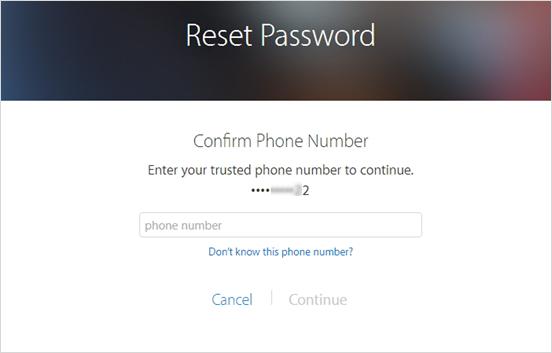 Réinitialiser votre mot de passe