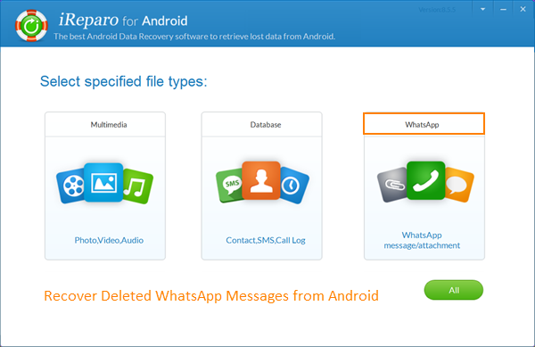 Recover Deleted WhatsApp Messages from Android without Backup
