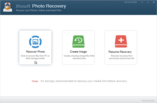 Restore Deleted Photos with Photo Recovery Software