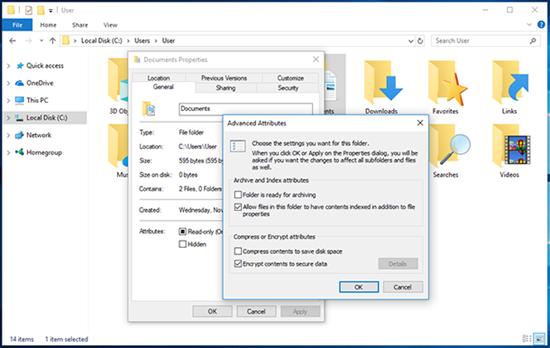 How to Encrypt Files on Windows