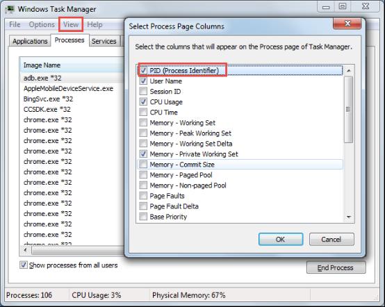 Comment trouver quel processus utilise le port USB Android
