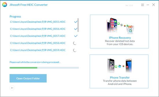 Usar Convertidor de HEIC a JPG