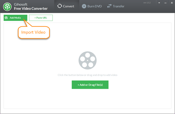Importar cualquier archivo de video