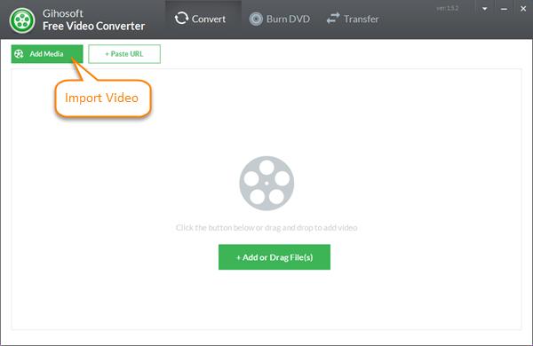 Importieren Sie eine beliebige Videodatei