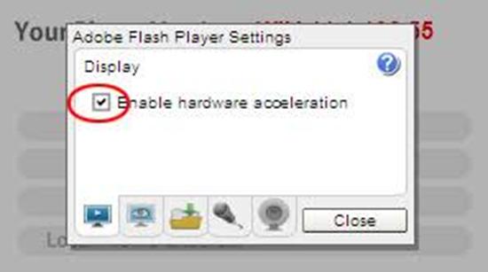 Deaktivieren Sie die Hardwarebeschleunigung