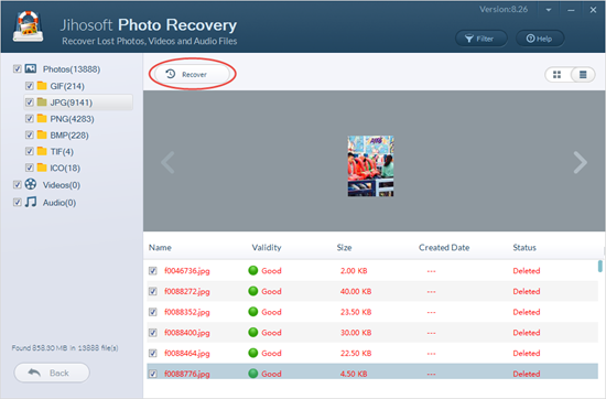 Recover photos from hard drive.