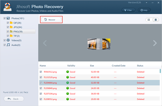 Recover photos from SanDisk SD card.