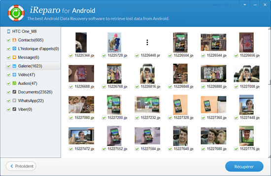 Comment récupérer des fichiers supprimés de Samsung mobile?