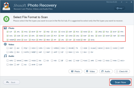 Scan your SD card for deleted photos.