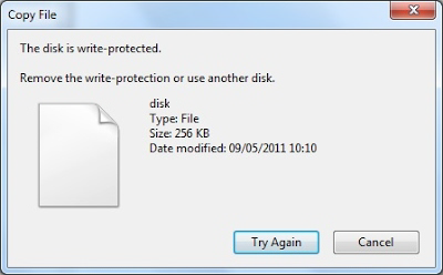 How to Remove Write Protection from USB and SD Card