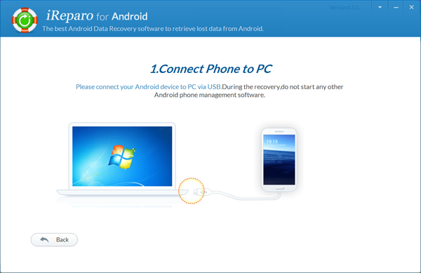 Connect Your Android Device to the Computer