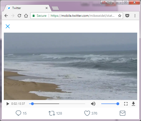 Simple steps to record Twitter videos without application.