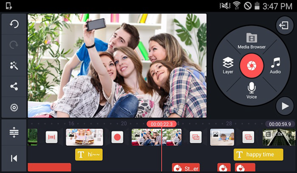 KineMaster video editor is one of the Top 10 Best Free Video Editors for Android in 2019.