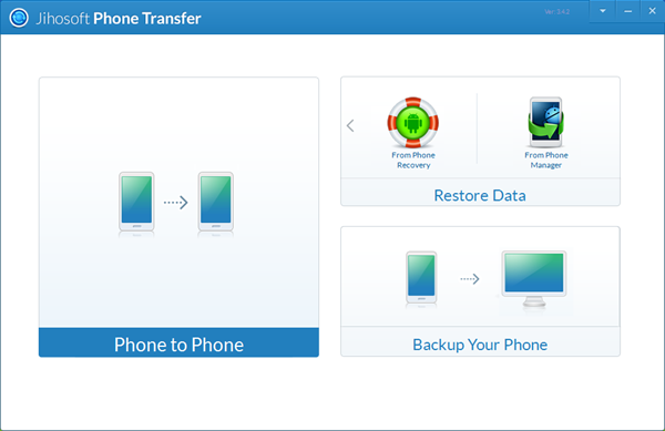 Phone transfer software