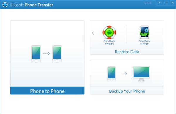 Phone transfer software