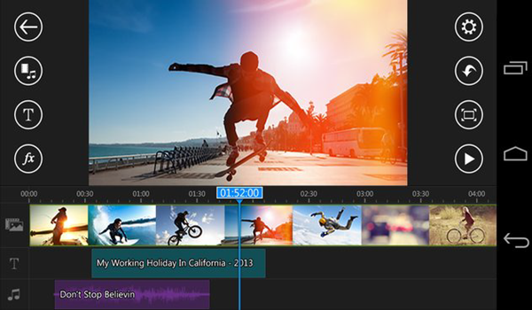 PowerDirector Video Editor is one of the Top 10 Best Free Video Editors for Android in 2019.