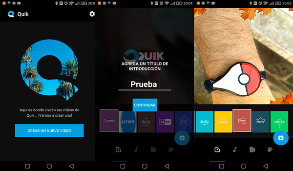 Quik GoPro Video Editor is one of the Top 10 Best Free Video Editors for Android in 2019.