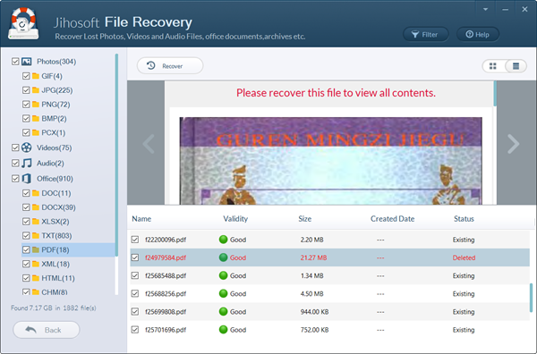 Recover Deleted Word Document in Windows/Mac with Recovery Software