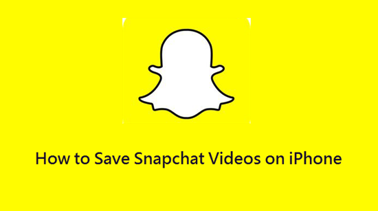 Die 4 Möglichkeiten wie man die Snapchat Videos auf iPhone / Kamerarolle speichern kann