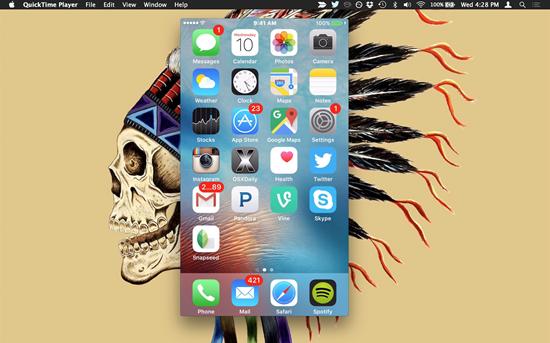Verwenden von QuickTime auf dem Mac