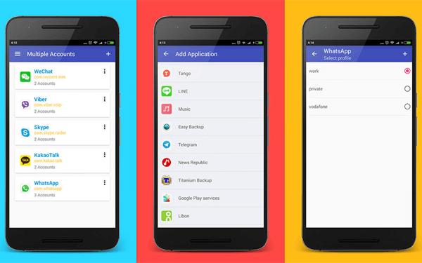 Utiliser un téléphone Android qui permet la configuration des utilisateurs invités